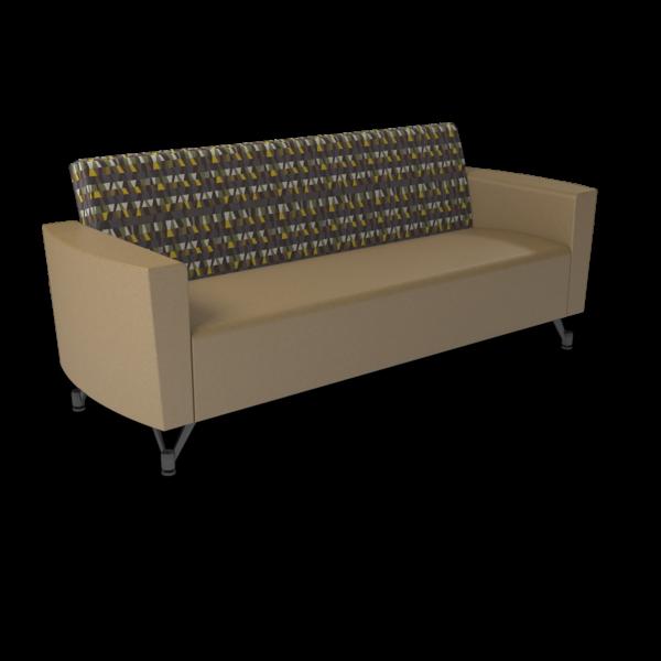 Center Stage Sofa. Ledge Seneca & Oak Vinyl