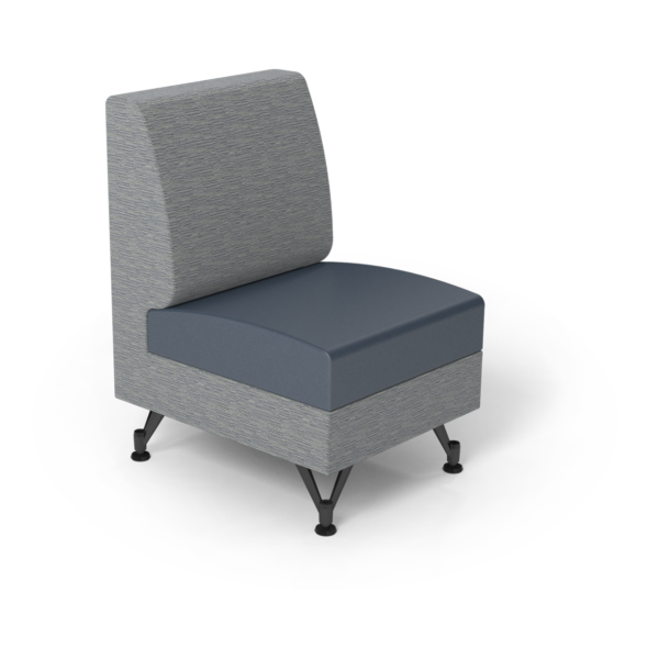 Center Stage Single Seat. Synergy Aegean & Blue Ridge Vinyl.