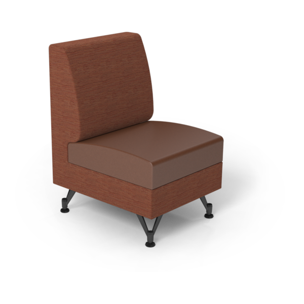 Center Stage Single Seat. Synergy Tango & British Tan Vinyl.
