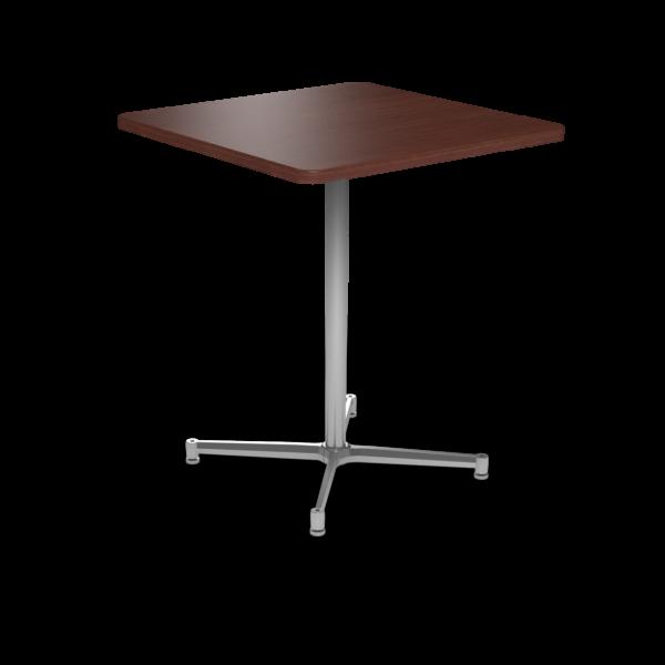 Cs 36X36 Table Bh Square Formalmahogany Silver 1220X1220