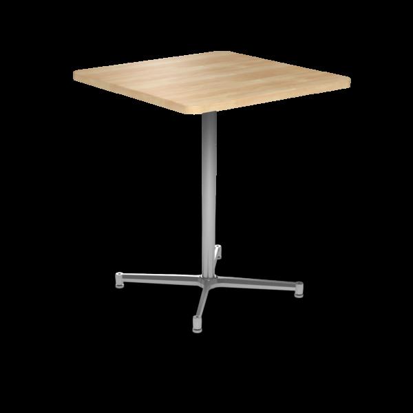 Cs 36X36 Table Bh Square Sugarmaple Silver 1220X1220