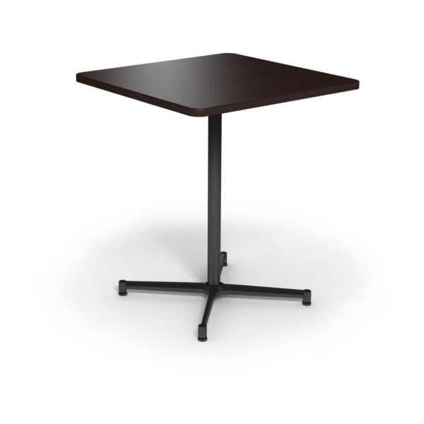 Center Stage Bar Height Square Table. Witchcraft & Black Weldment