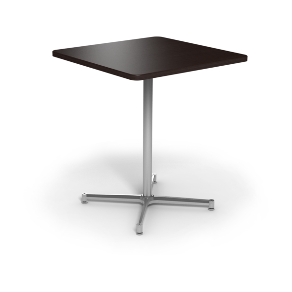 Center Stage Bar Height Square Table. Witchcraft & Silver Weldment
