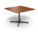 Cs 42X42 Table Th Square Oiledcherry Black 1220X1220