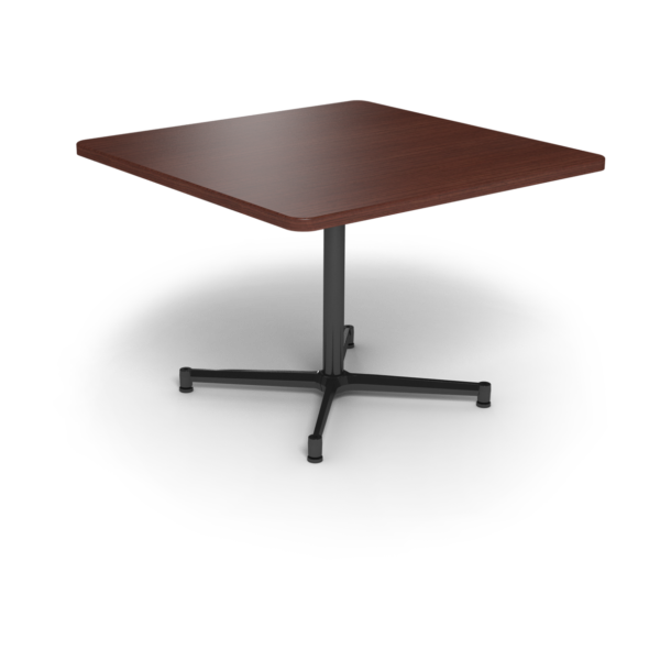 Cs 42X42 Table Th Square Formalmahogany Black 1220X1220