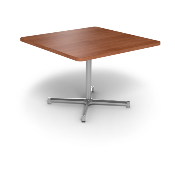 Cs 42X42 Table Th Square Oiledcherry Silver 1220X1220