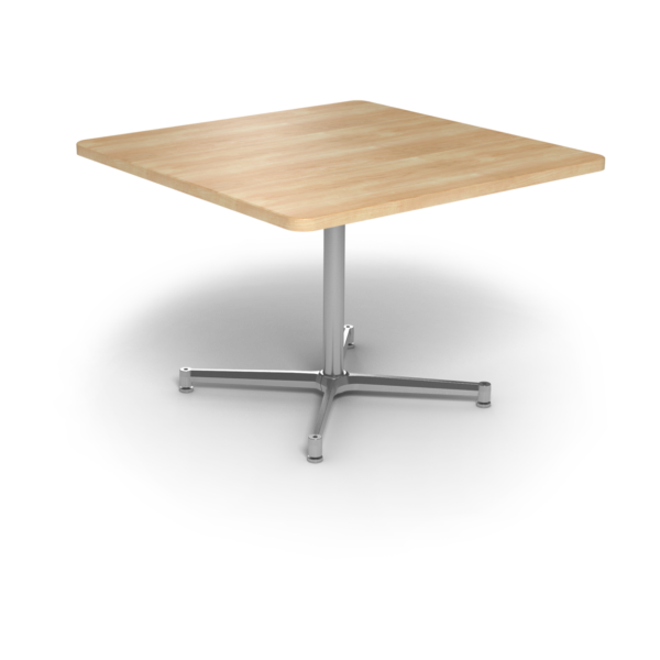 Cs 42X42 Table Th Square Sugarmaple Silver 1220X1220