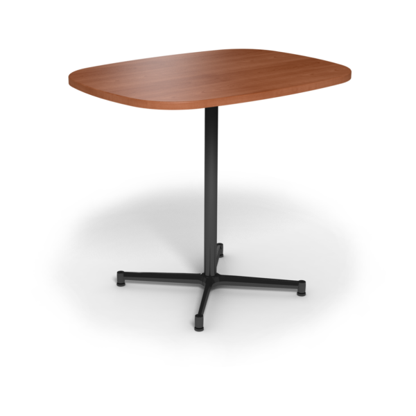 Cs 36X48 Table Bh Super Elliptical Oiledcherry Black 1220X1220