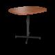 Cs 36X48 Table Bh Super Elliptical Oiledcherry Black 1220X1220