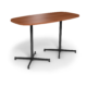 Center Stage Bar Height Super Elliptical Table. Oiled Cherry with Black Weldment, for Super Elliptical Bar Height Table (thumbnail 2)