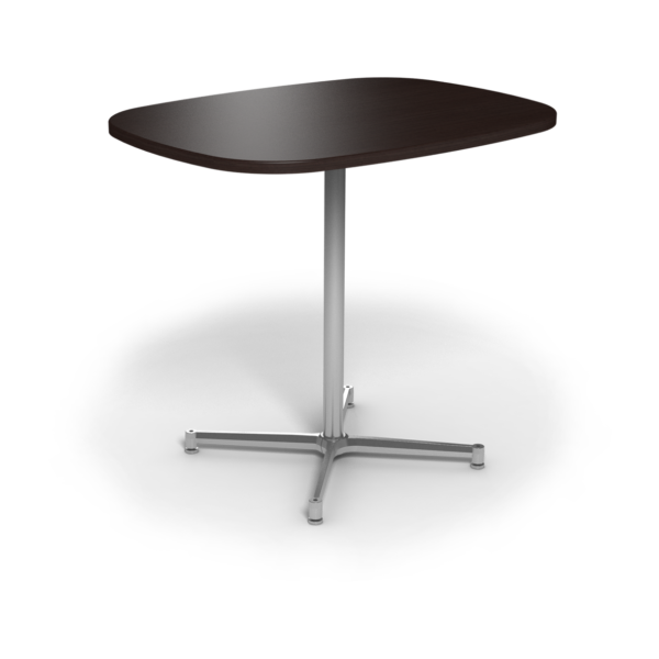 Center Stage Bar Height Super Elliptical Table. Witchcraft & Silver Weldment