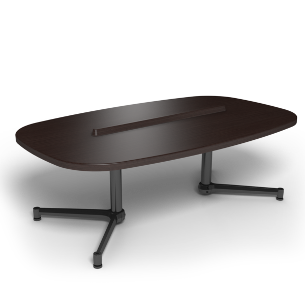 Center Stage Super Elliptical Table. Witchcraft & Black Weldment