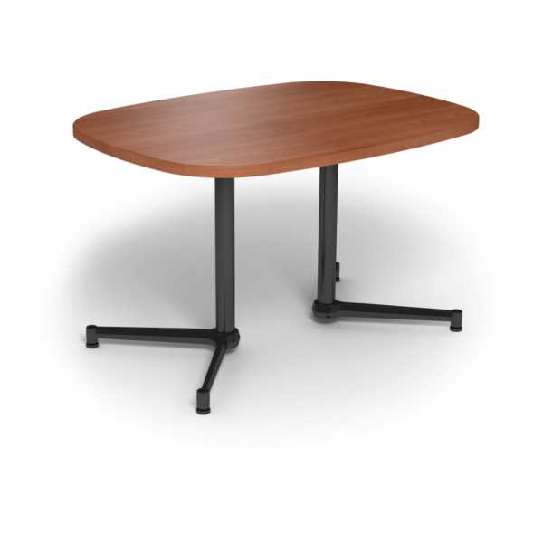 Cs 36X48 Table Th Super Elliptical Oiledcherry Black 1220X1220