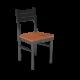 Cs Ladder Back Chair Oiledcherry Black 1220X1220