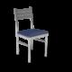 Cs Ladder Back Chair Royal Silver 1220X1220