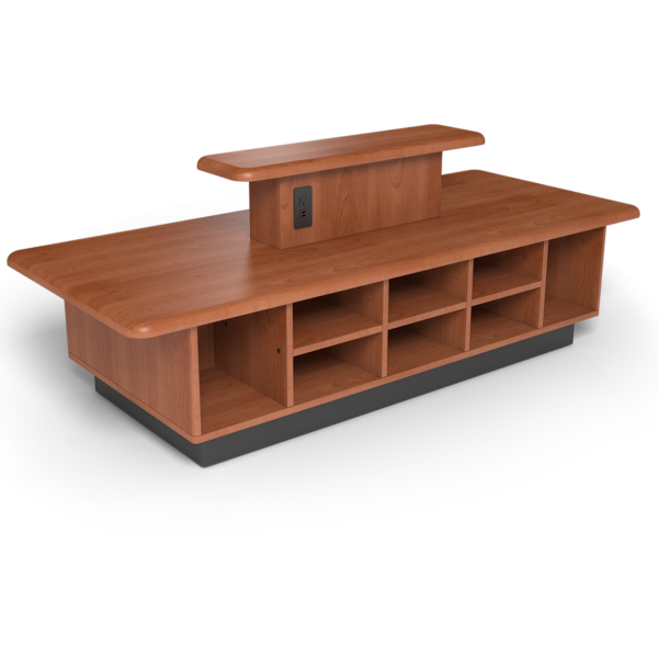 Center Stage, Tiered Coffee Table with Oiled Cherry Finish