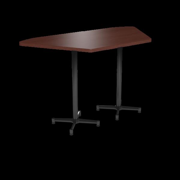 Cs 36X72 Table Bh Trapezoid Formalmahogany Black 1220X1220