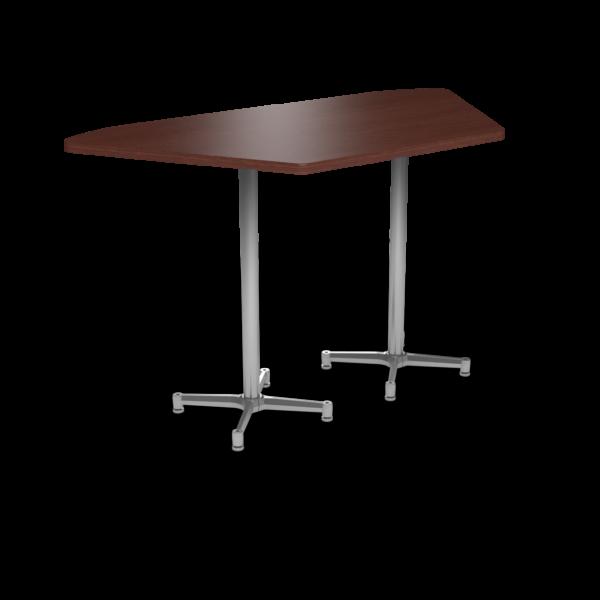 Cs 36X72 Table Bh Trapezoid Formalmahogany Silver 1220X1220