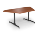 Center Stage, Trapezoid Table Height Table. Oiled Cherry & Black Weldment, for Trapezoid Table Height Table (thumbnail 1)