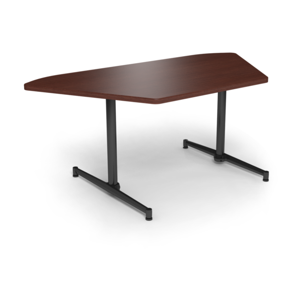 Cs 36X72 Table Th Trapezoid Formalmahogany Black 1220X1220