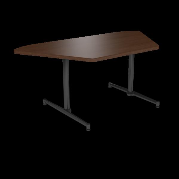 Cs 36X72 Table Th Trapezoid Gunstocksavory Black 1220X1220