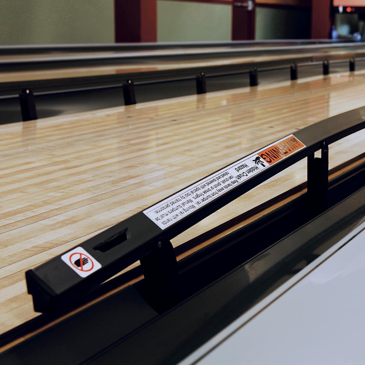 Pinball Wizard Automatic Bumper Rails | Brunswick Bowling