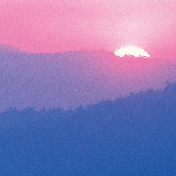 Rustic - Purple Mountain - Swatch