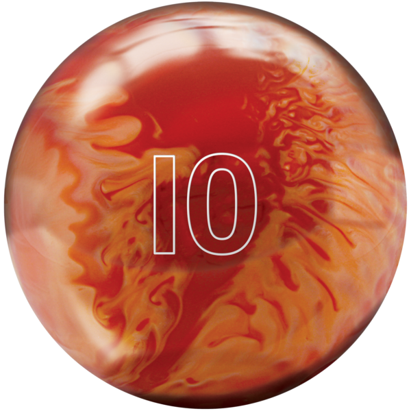 House Ball 10Lb Orange
