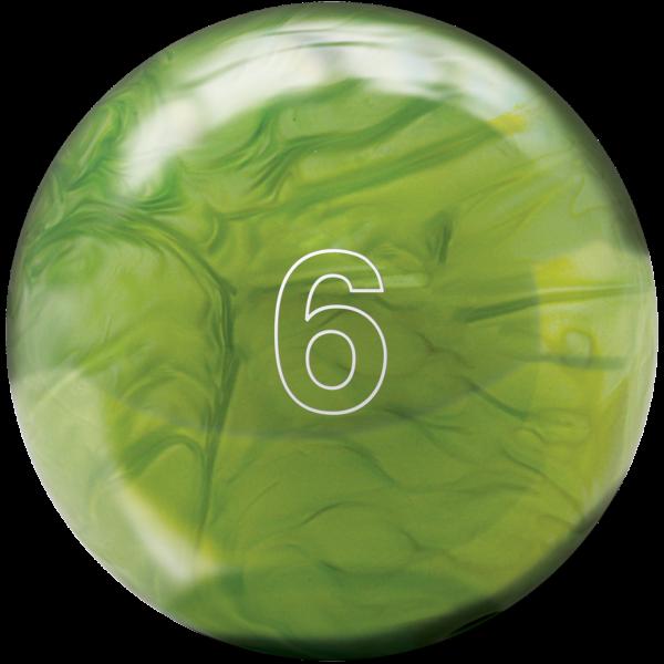 House Ball 6Lb Lime Green