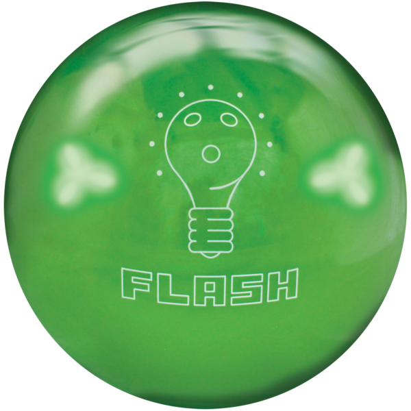 House Ball Flash 8Lb Lime Green Logo 1600X1600