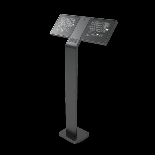 Sync Keypad Black Pedestal 1220X1220