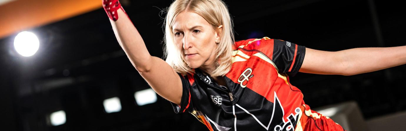 Pro Staffer Birgit Poppler Action Shot